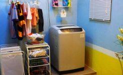 Desain ruang cuci laundry minimalis