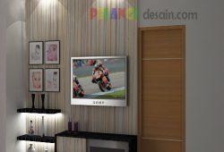 7 Ide Desain Backdrop TV Untuk Ruang Minimalis