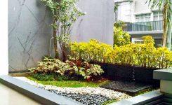 cara menata batu alam untuk taman