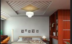 desain plafon sederhana kamar tidur