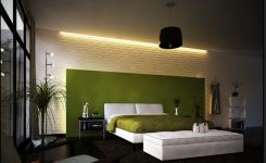 desain plafon tempat tidur sederhana