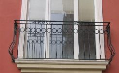 gambar desain railing balkon