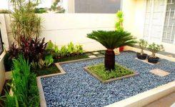 ide batu coral taman sederhana