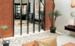 ide desain batu koral untuk rumah sederhana