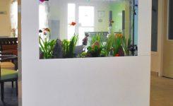 ide desain partisi ruang aquarium