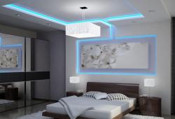 Ide Desain Plafon kamar Tidur Minimalis