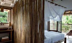 Ruangan Lebih Menarik dengan Partisi Bambu