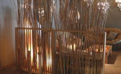membuat sekat ruangan dengan bambu sederhana