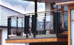 model railing balkon sederhana