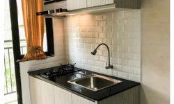 Pembuatan Kitchen Set Minimalis di Solo