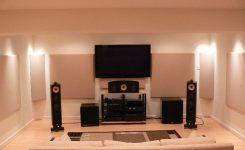 setup home theater sederhana