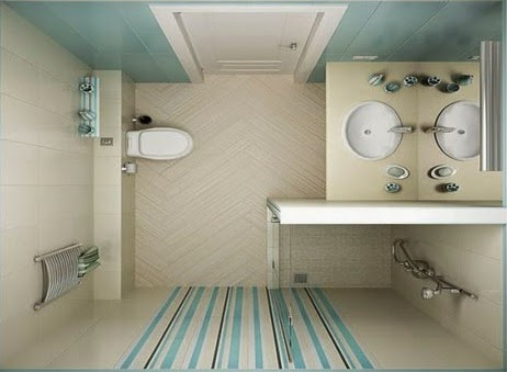 10 ide desain kamar mandi minimalis ukuran 1 x 2 meter